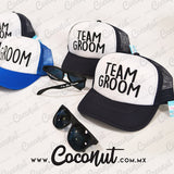 "Gorra ""Team groom"" Azul marino"