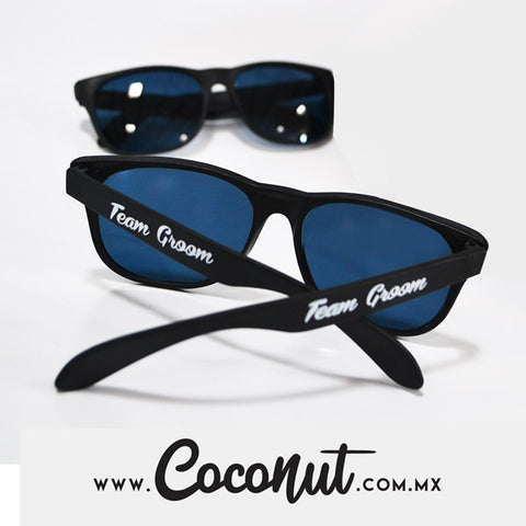 "Lentes ""Team Groom"" Negro"