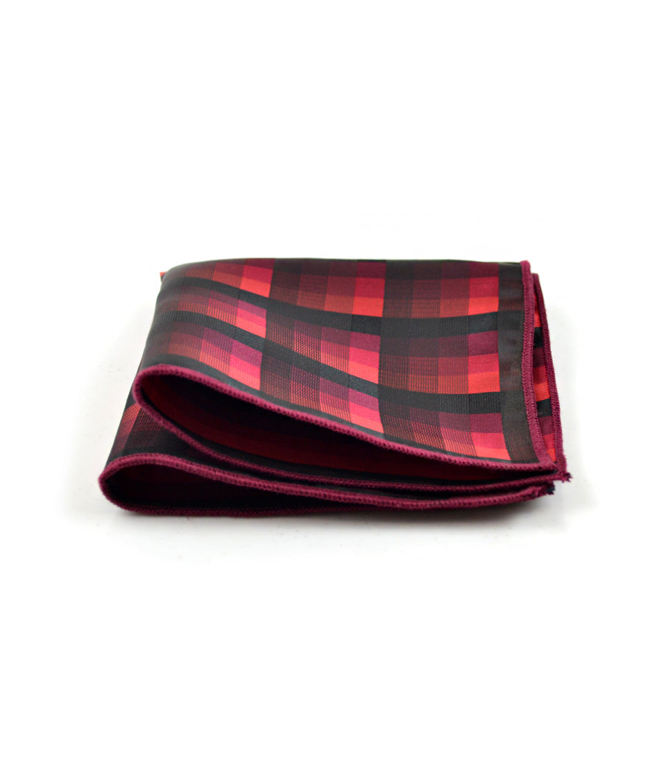 the dapper man - Hues of Red Pocket Square