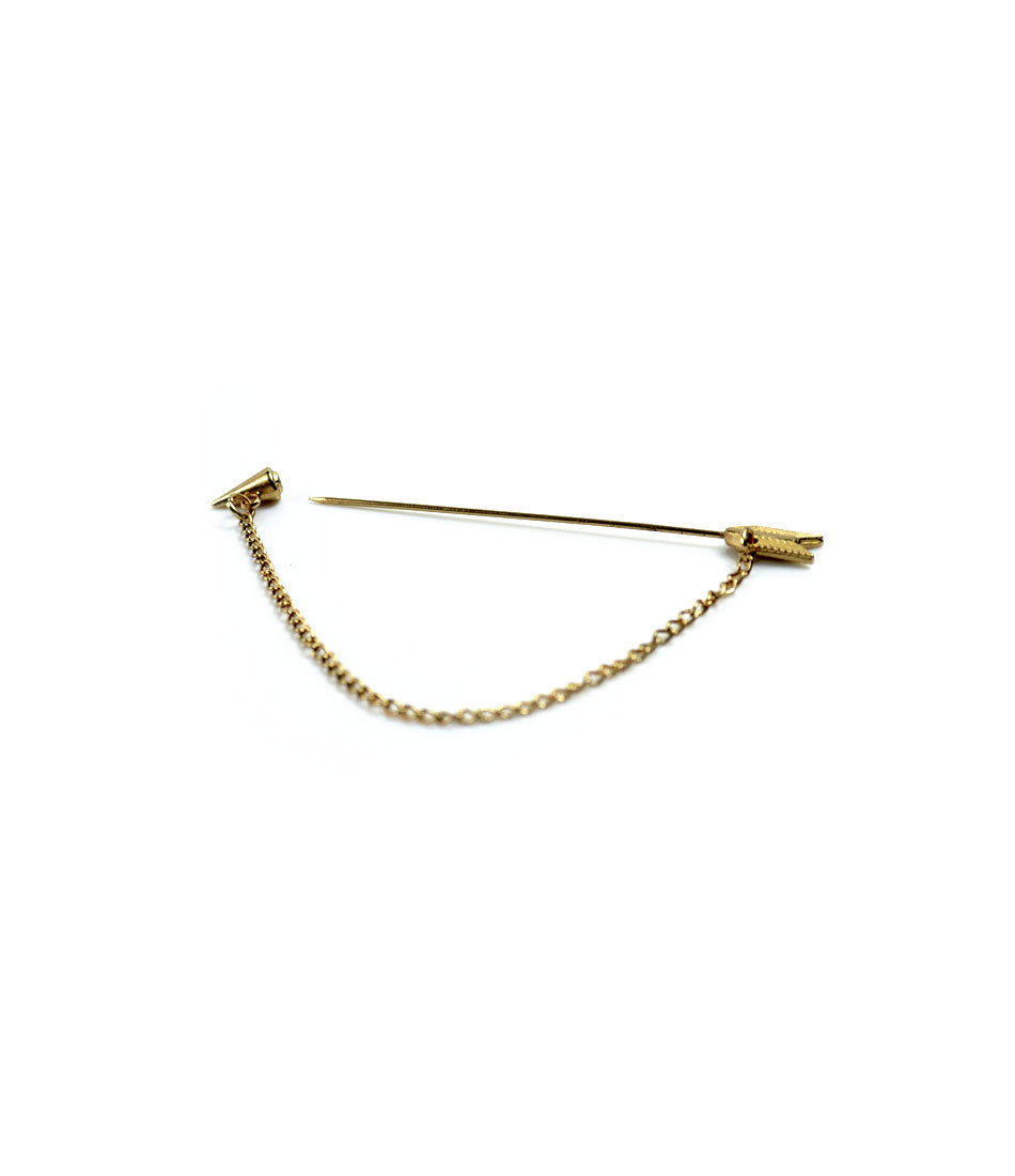 the dapper man  - Golden Arrow Lapel Pin