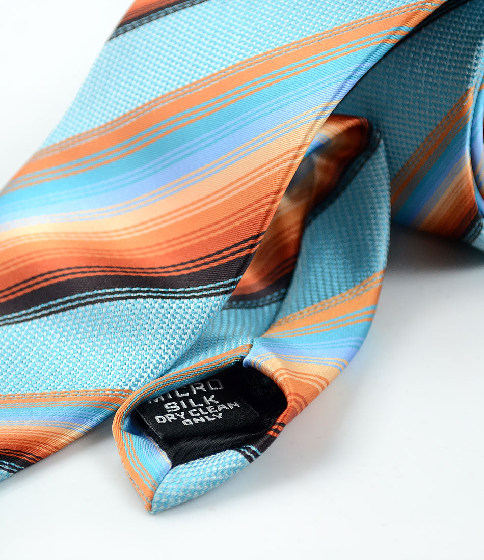 the dapper man - Hues of Sky Neck Tie