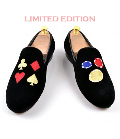 The Jackpot Albert Velvet Slippers - LE - The Dapper Man