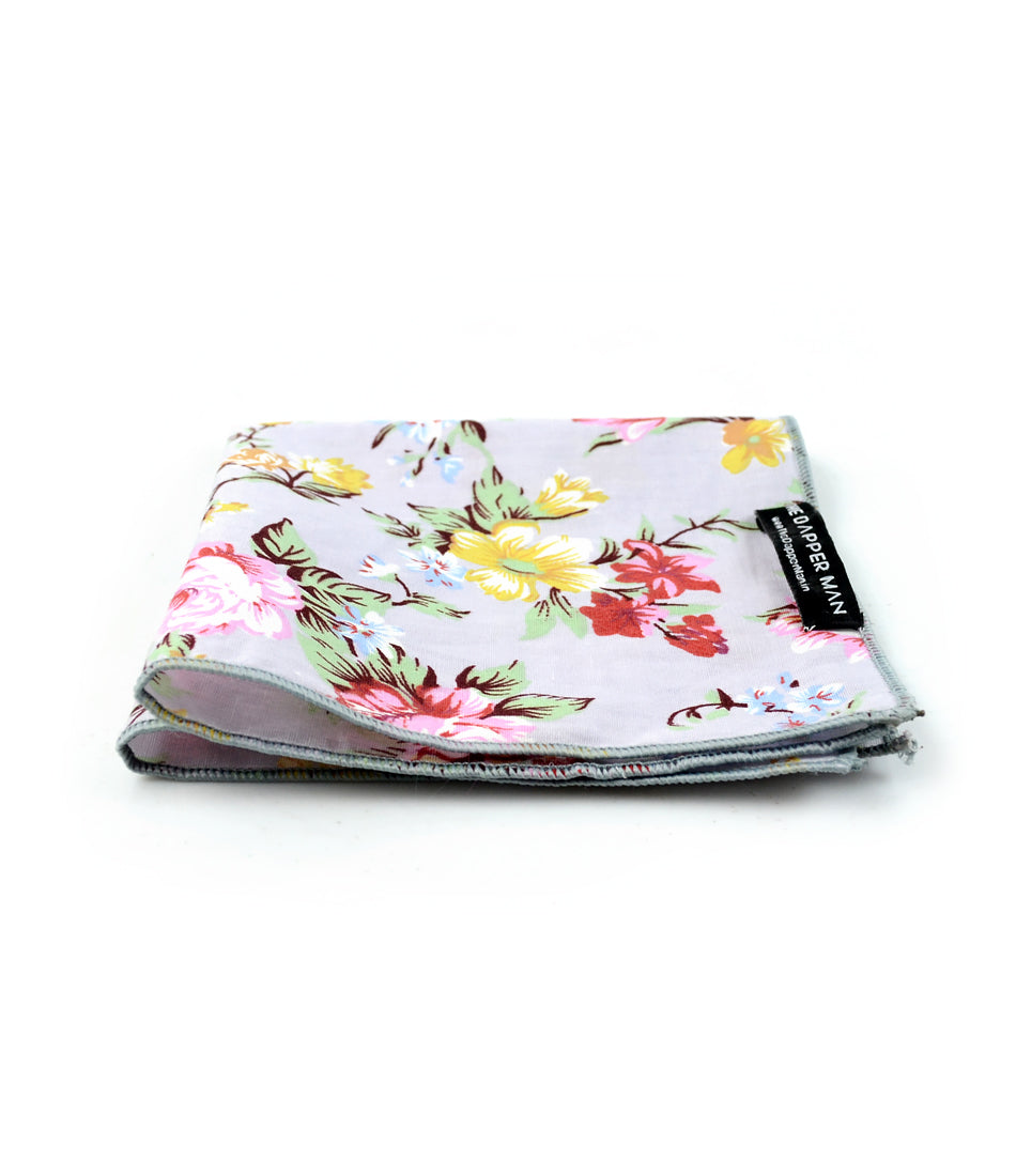 the dapper man - Picasso Floral Pocket Square