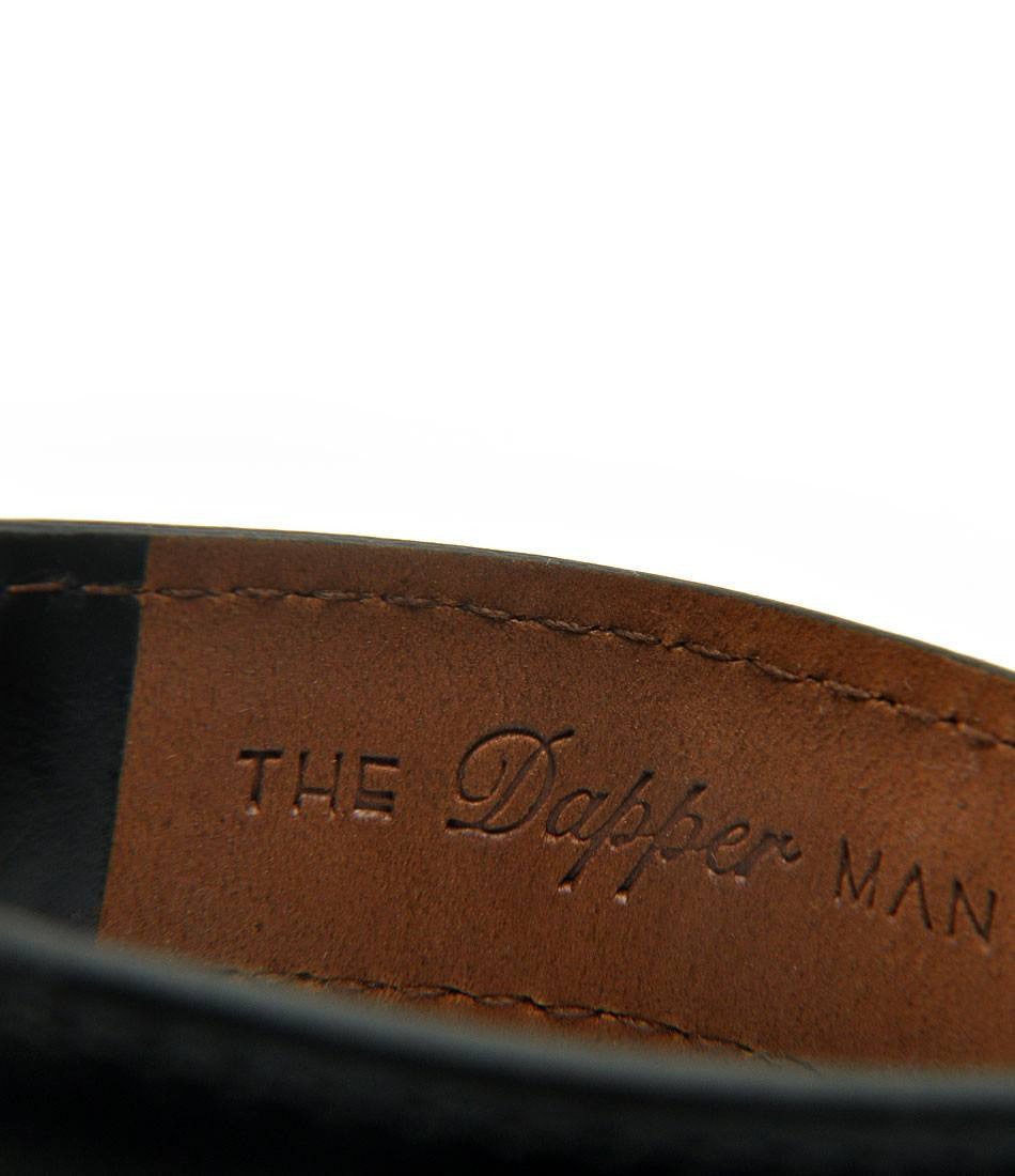 London Rose Gold - Black Leather - The Dapper Man