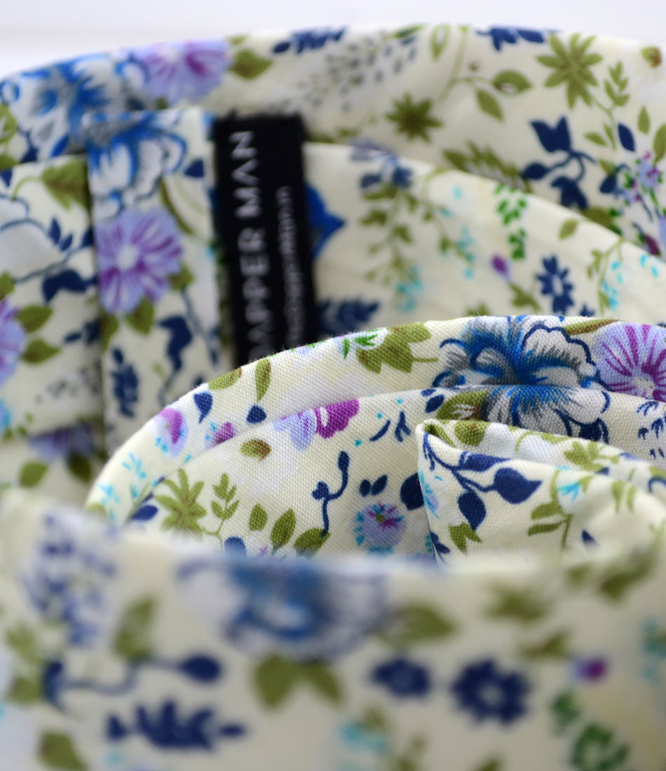 the dapper man - Irish Crème Floral Neck Tie
