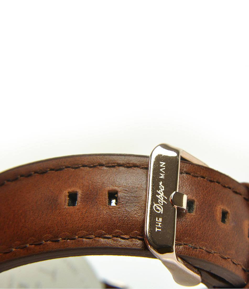 New York Leather - Brown - The Dapper Man