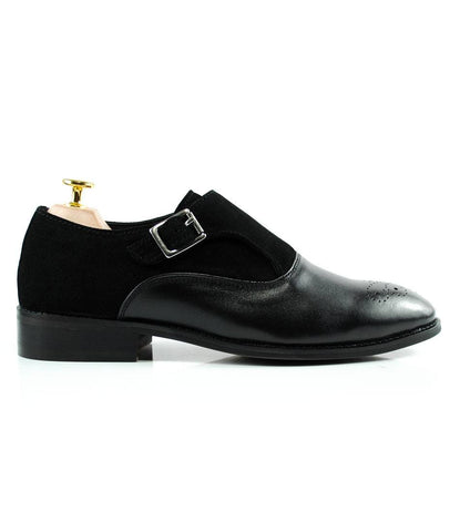 Black Combination Single Monks