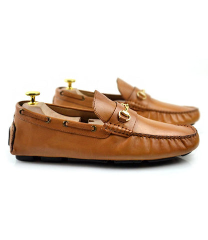 Horsebit Driving Loafer - Tan - The Dapper Man