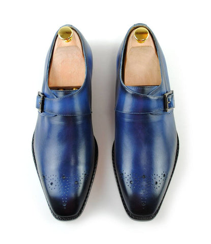 Pelle Santino - Single Monks - Blue (Hand Painted) LE