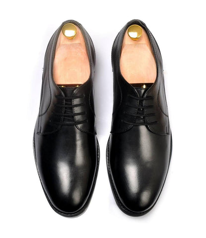 Custom Black Derby - The Dapper Man