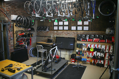 Triathlon Custom Build and Retul Fit Body Geometry Components