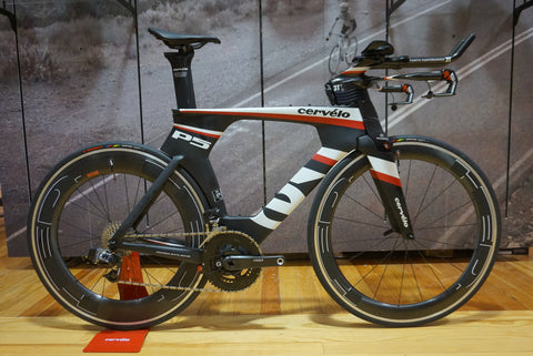 Cervelo P5 Custom Triathlon Bike