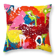 Go Out With a Bang - Throw Pillow