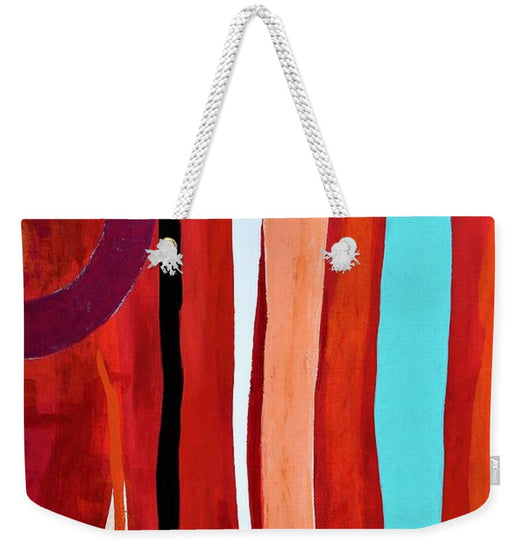 Blue Flame - Weekender Tote Bag