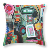 Conundrum - Throw Pillow