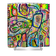 Eight Martinis - Shower Curtain
