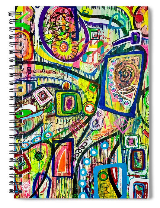 Eight Martinis - Spiral Notebook