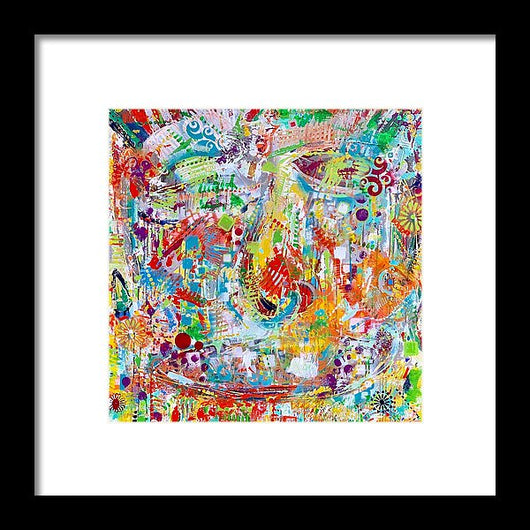 Face Off - Framed Print
