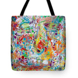 Face Off - Tote Bag