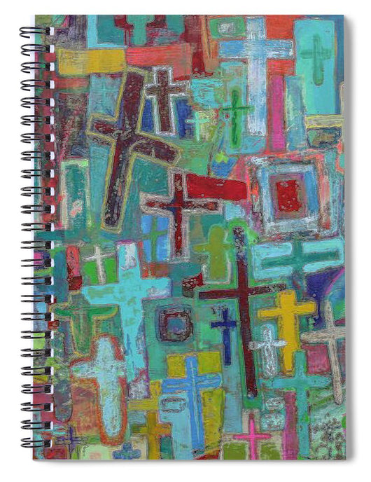 At the Cross - Spiral Notebook