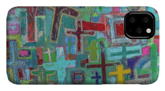 At the Cross - Phone Case