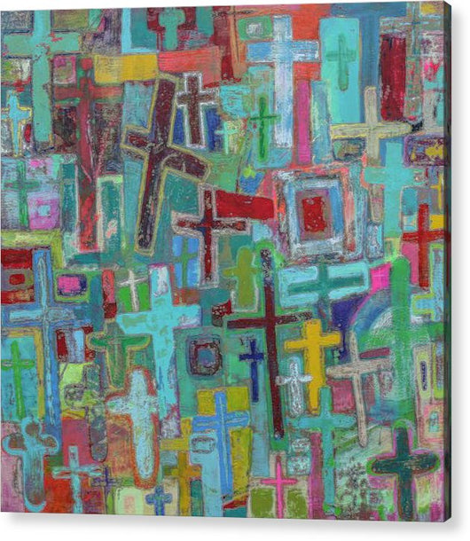 At the Cross - Acrylic Print