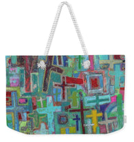 At the Cross - Weekender Tote Bag