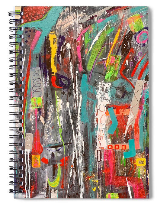 Fall Out - Spiral Notebook