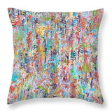 Falling Leaves - Throw Pillow