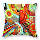 Fractured  - Throw Pillow