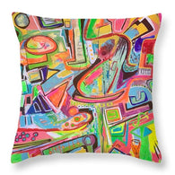 Girls Night Out - Throw Pillow