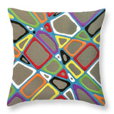 Gray Township - Throw Pillow