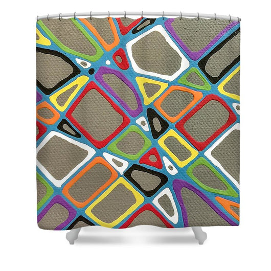Gray Township - Shower Curtain