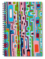 Gridlock - Spiral Notebook