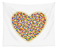 Heart Dots - Tapestry