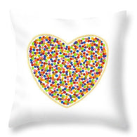 Heart Dots - Throw Pillow