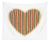 Heart Stripes - Tapestry