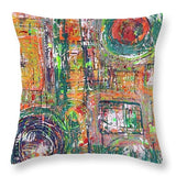 In The Leather - Throw Pillow