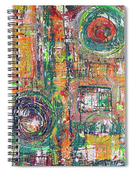 In The Leather - Spiral Notebook