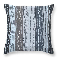 Modern Squiggles 5 - Throw Pillow