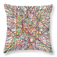 Pick Up Sticks - Throw Pillow
