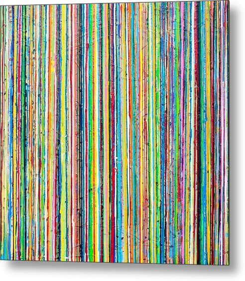 Rainbow Roll - Metal Print