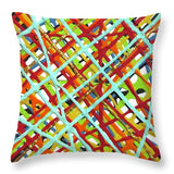 Red Haystack - Throw Pillow