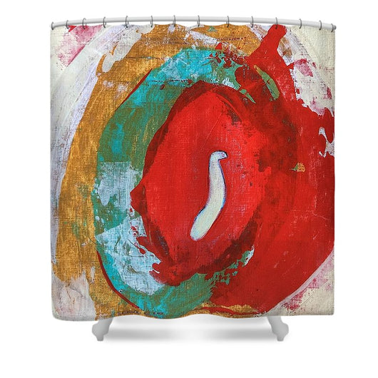Red Tide - Shower Curtain