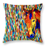 Reddy To Run - Throw Pillow