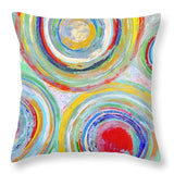 Spin Out - Throw Pillow