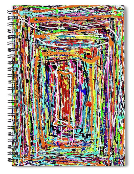 Step Inside - Spiral Notebook