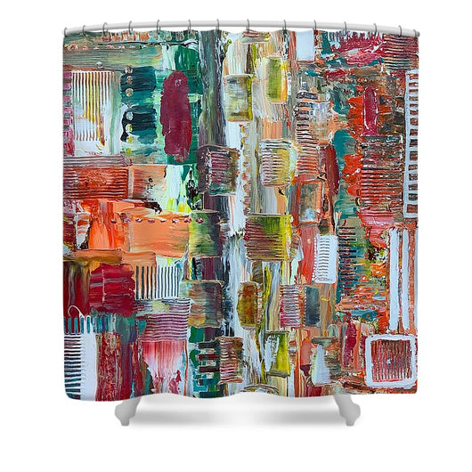 Take it Back - Shower Curtain