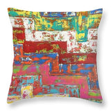The Factory - Throw Pillow