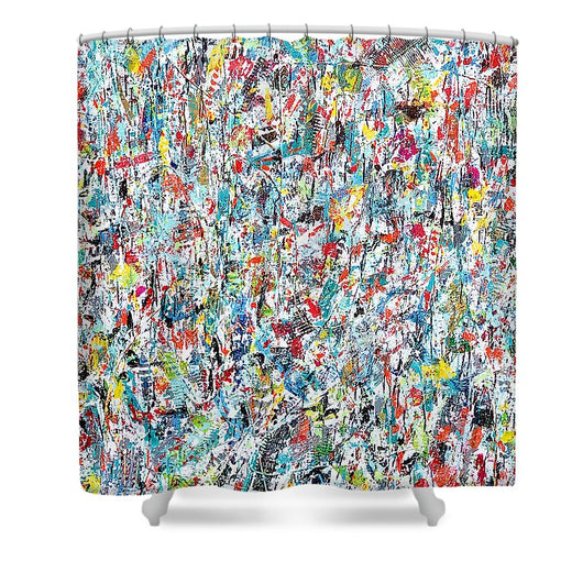 Ticker Tape Parade - Shower Curtain